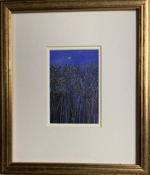 The very last leaves of autumn ( framed original oil )