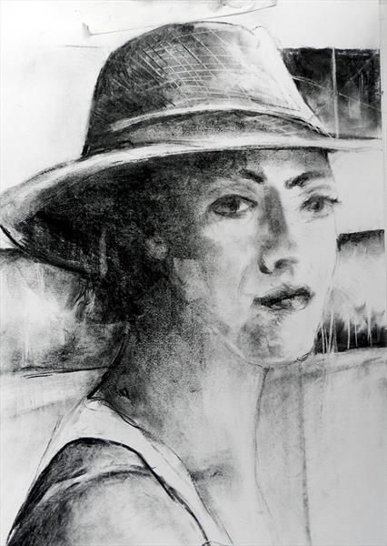 Lady in a Hat by Paul Banham