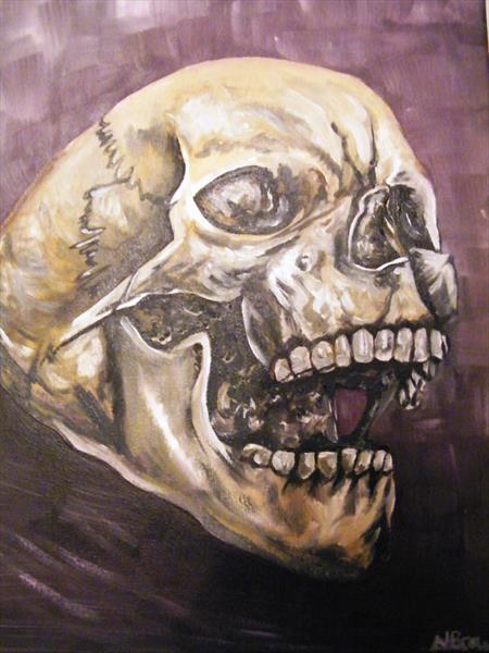 Screaming Skull by Natalie Browne