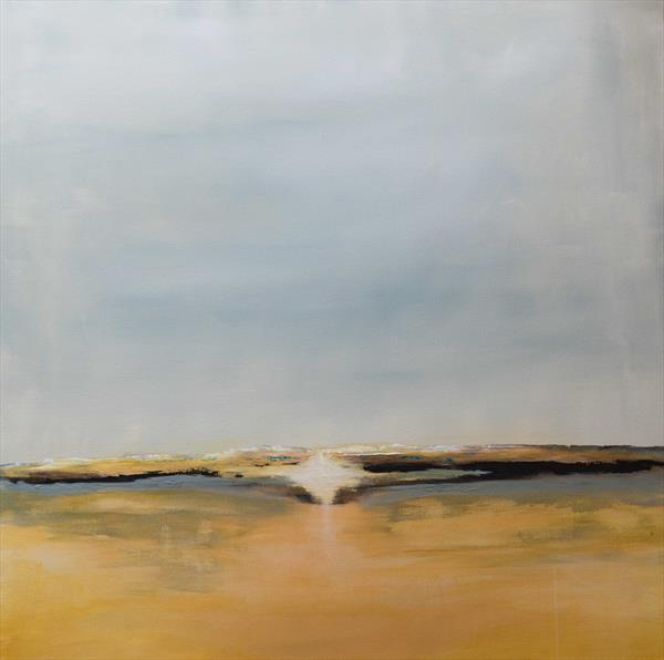 Golden seascape by Timothy Huitson