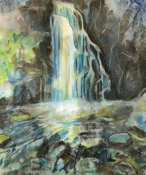 Waterfall by Serena Phillips