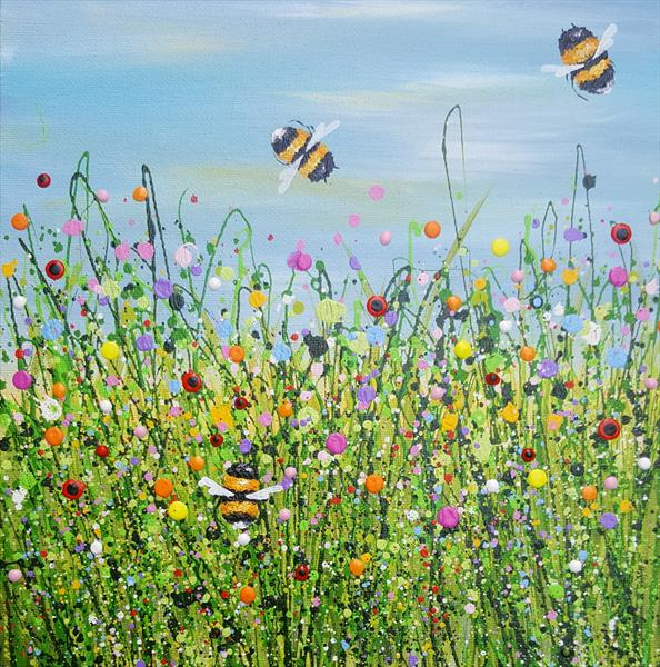 Bee Wild Bee Free by Lucy Moore