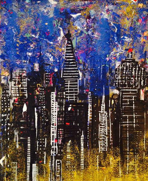 Night City by Ashlie Urquhart