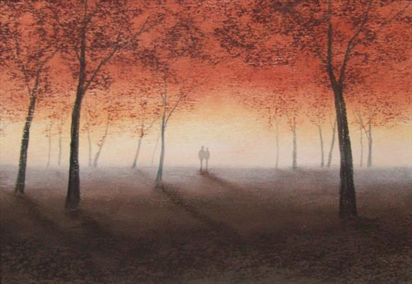 Autumn Mist by Patricia Richards