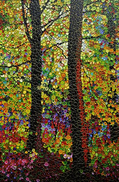 Abstract Autumn by Paula Horsley