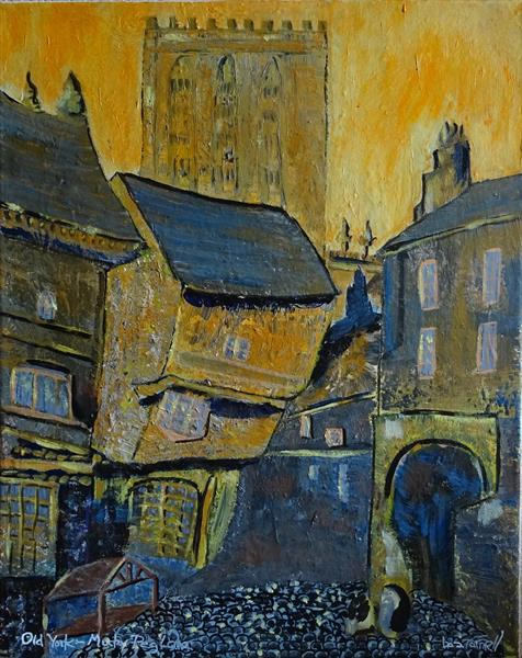 OLD YORK - MUCKY PEG LANE by Baz Farnell