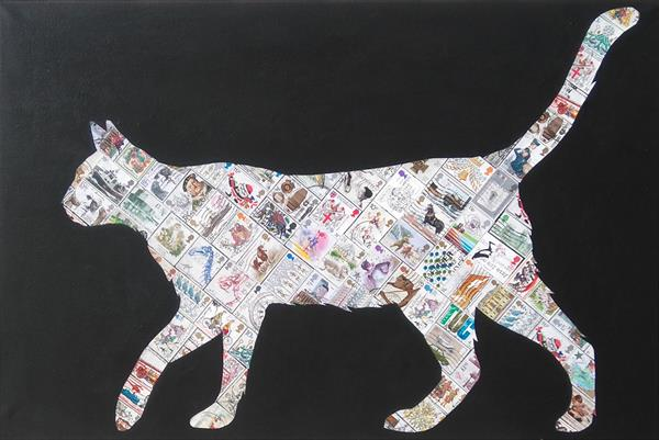 White Cat by Gary Hogben