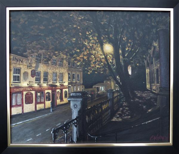 Chatham Intra Streetlights  by Chris Norman