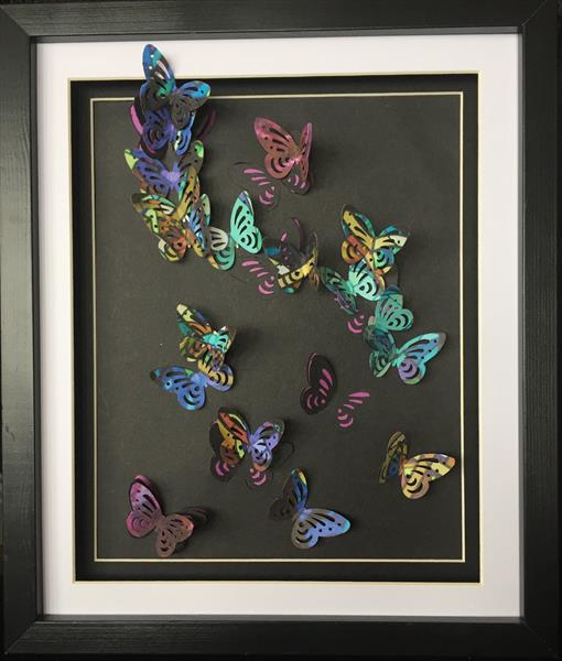 Stained Glass Butterflies by Rach French