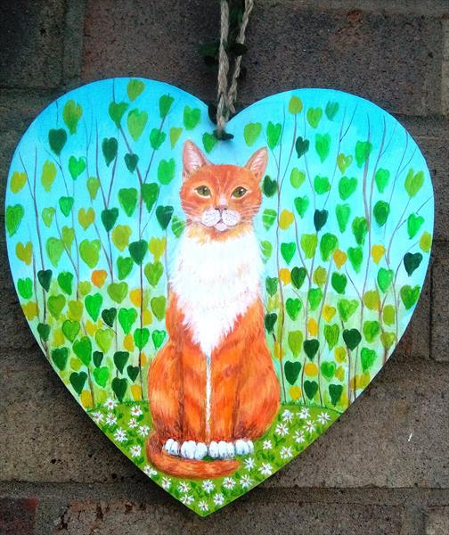 Amanda the marmalade cat by Maureen Lacey
