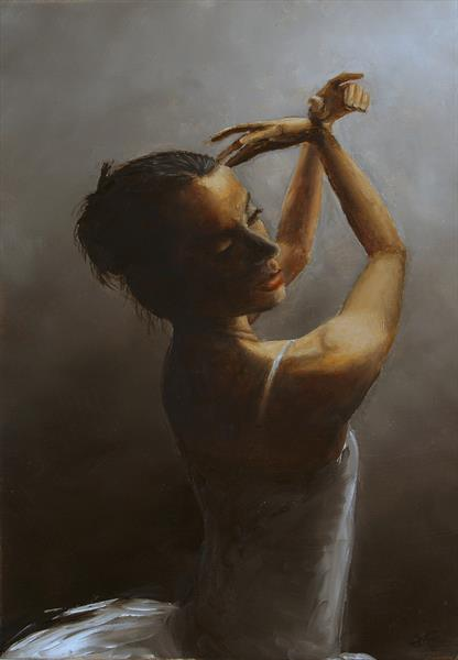 The solo dance by Edward M Flood