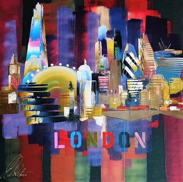 London City Skyline 2016 0166 by Eraclis Aristidou