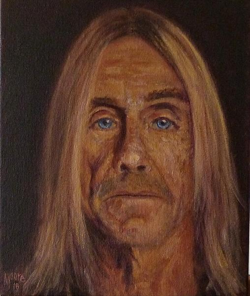 Iggy Pop by David Moore