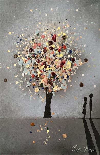 A mini wishing tree - me and you  by Pippa Buist