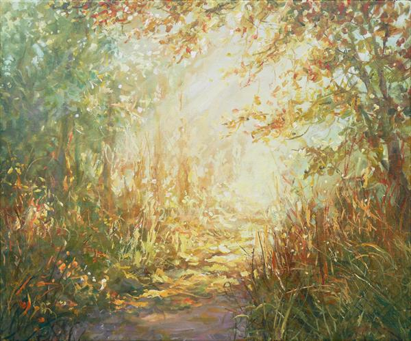 Summer Walks (On display at Art Gallery, Tetbury) by Mariusz Kaldowski