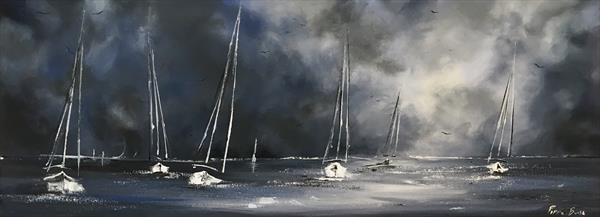 Panoramic sails  by Pippa Buist