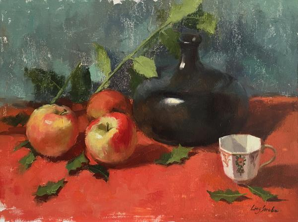 Still Life with Apples by Ling Strube