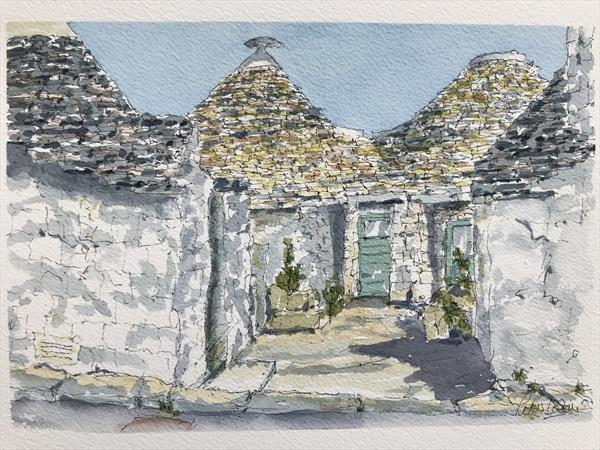Trulli houses by Peter Blake