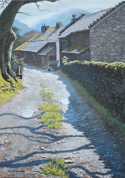 Side Farm, Patterdale, Cumbria by David Barber