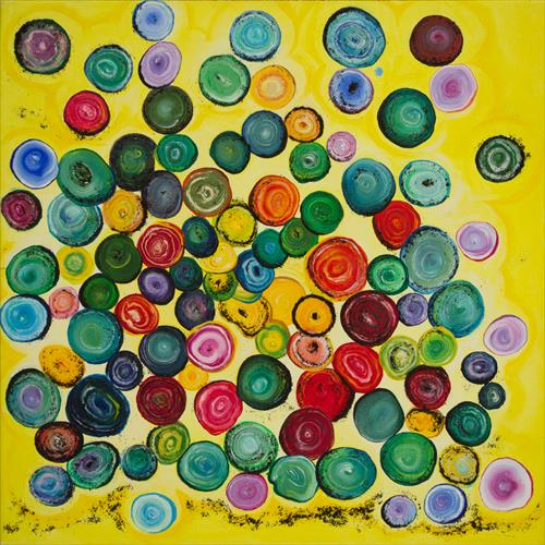 Stones. Colourful mood with treasures of Earth.   by Svitlana Ziuhanova
