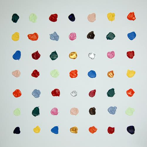 impasto dots by darren crowley