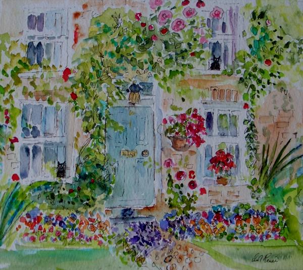 Myrtle Cottage in Spring by Carol Renee