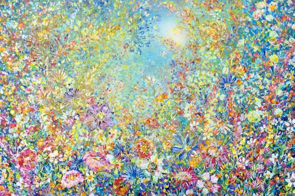 Summertime Sparkle  by Janice  Rogers