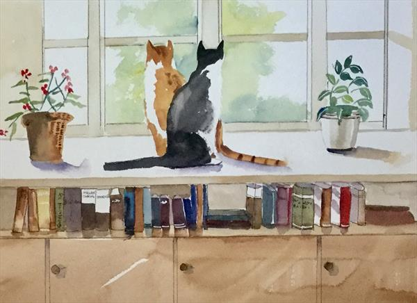 BOOK ENDS by Susan Shaw