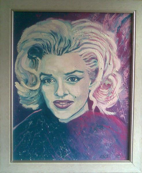 Marilyn Monroe (Some like it hot) by Colin Able