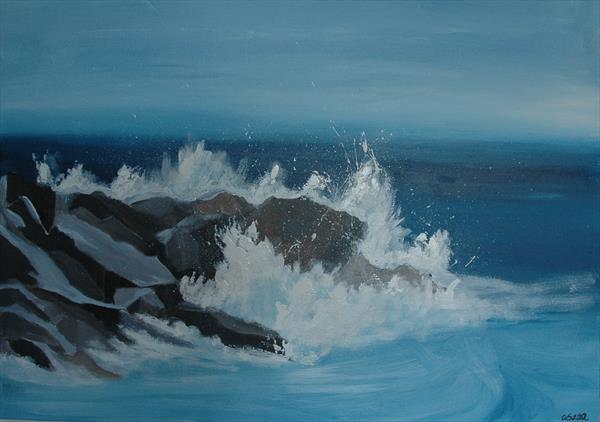 Crashing Waves by Andrew Snee