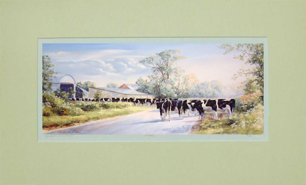 Milking Time by Catherine J Pier