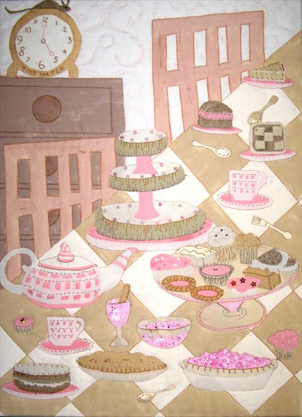Time For Tea by Linda Calverley