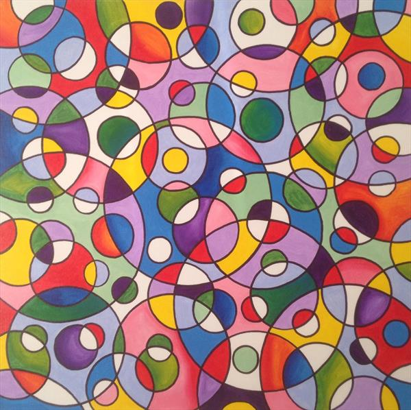 Abstract Circles 3 by Lee Proctor