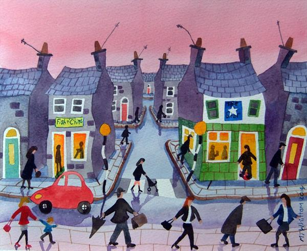 A very busy day by Martin Whittam