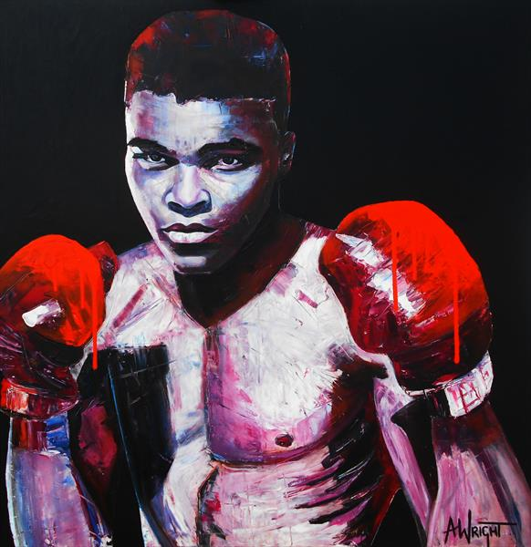 Legend - LARGE WORK by Angie Wright