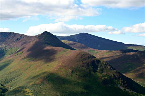 Causey Pike from Catbells by Joanne Hulme