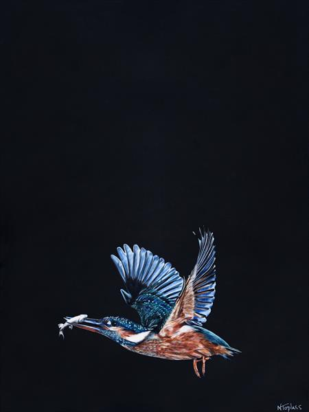 Kingfisher by Natalie Toplass