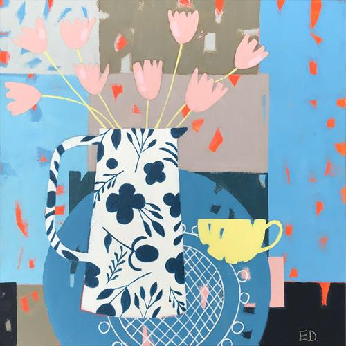 Yellow Tea Cup by Emma Dashwood