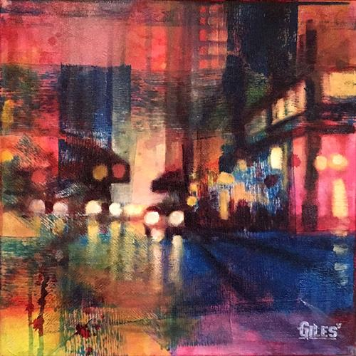 Fairylight traffic by Chris Giles