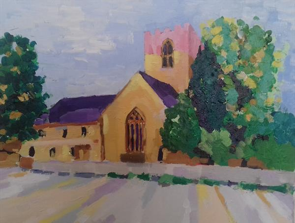 St Asaph Cathedral  by Victor Gelezinis