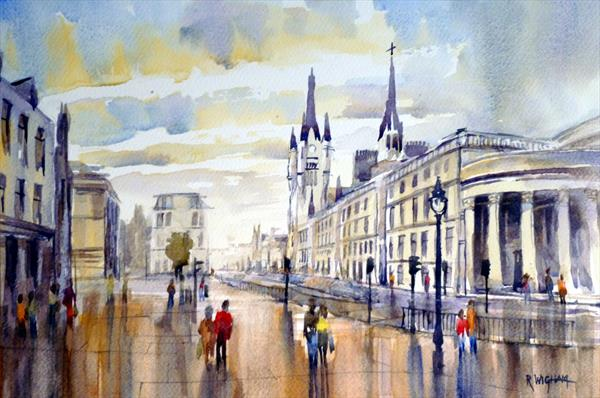 Late Afternoon, Union Street by Rob Wigham