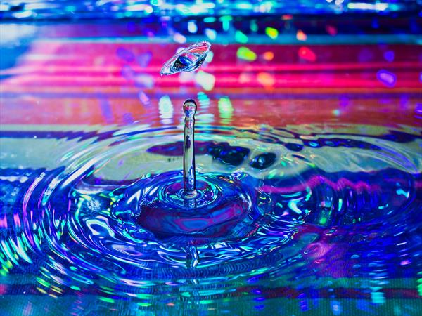 Let's Do it - Liquid Art 1 - Limited Edition 1 of 50 by Mike McHugh