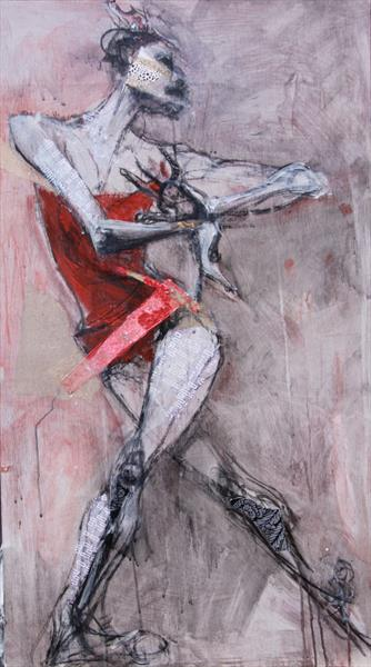 Red Dancer. by Liane Stevenson