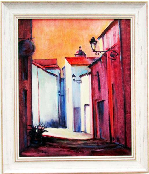 Hot Afternoon, Saintes by Jean Simpson