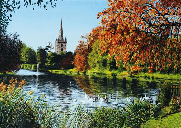 Holy Trinity Church Stratford upon Avon by David Byrne