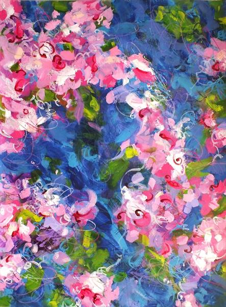 Cherry Blossom Blues by Jacqueline Taylor