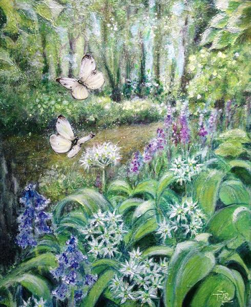 Meadowland - Wild Garlic Walk by Theresa  Robinson
