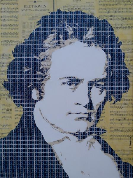 Beethoven by Gary Hogben