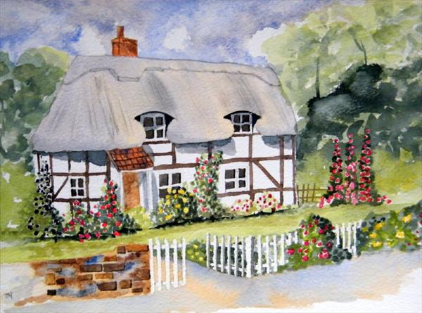Country Cottage by Trevor Meek