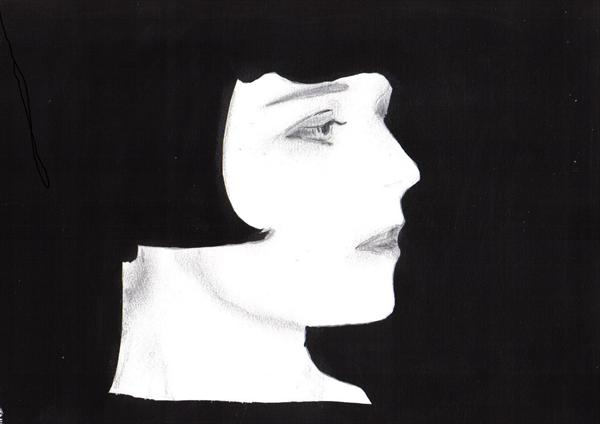 Louise Brooks by Adrian Clark